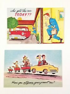 Two-Vintage-postcards-with-funny-sayings-Packed-and-ready-to-be-shipped