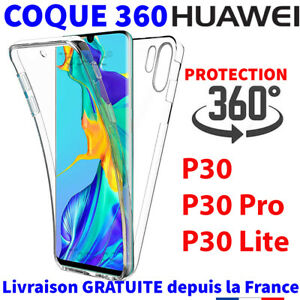 COQUE PROTECTION INTÉGRALE HUAWEI P30 P30 PRO P30 LITE 360 FULL SILICONE SOUPLE