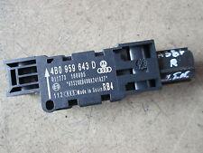 60.617km Audi A3 8P R8 A8 4E Sensor Längsbeschleunigung Crashsensor 4B0959643D