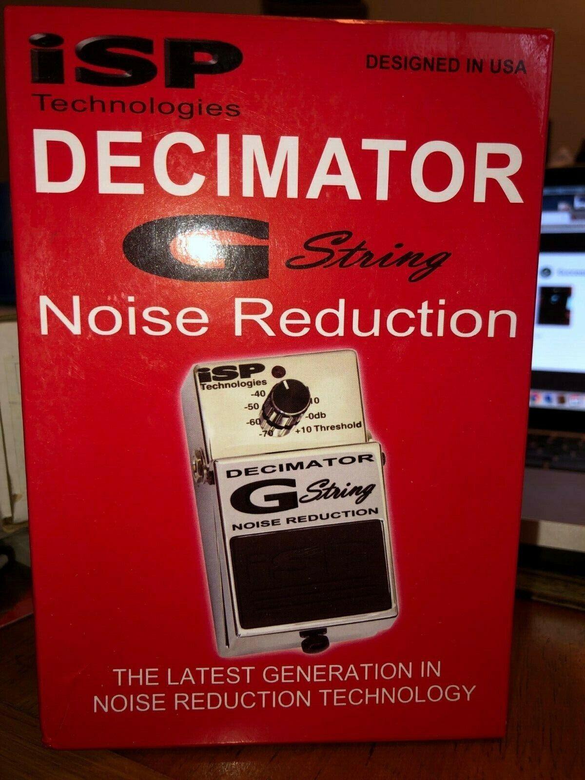 ISP Technologies Decimator G-String noise rotuction gate pedal OPEN BOX