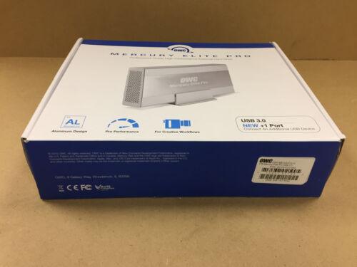 1 Expansion Port OWCME3UH7T2.0 OWC Mercury Elite Pro 2TB External HD USB 3.0