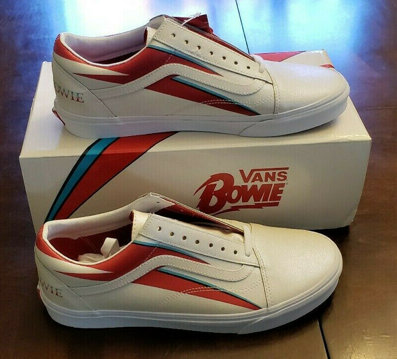 NEW Limited Edition Vans x David Bowie Aladdin Sane Old Skool shoes DB Men's 11.5