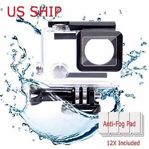 Waterproof-Diving-Housing-Case-for-GoPro-Hero-3-Hero-4-Plus-Accessory-New