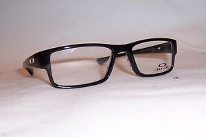 4819f600896 NEW OAKLEY EYEGLASSES AIRDROP OX 8046 8046-02 BLACK INK 55mm RX ...