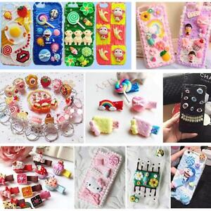info for a741b 0d491 Details about 20 Pieces Cute 3D Kawaii Pattern Decor Whipped Cream Clay for  Phone Case