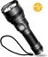 5 /& super luminosi USB Ricaricabile LED Torce IP65 impermeabile Torcia babacom