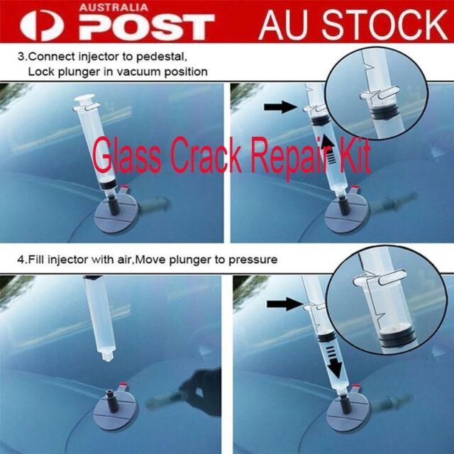 Car Windscreen Windshield Crack Chip Bullseye Glass Repair Screen DIY Kit uo