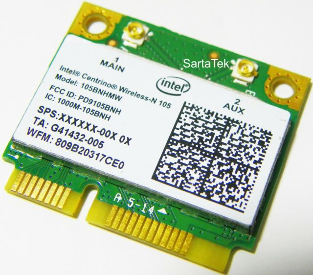 Intel Centrino Wireless-N 105 Drivers Mac