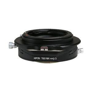 Kipon Shift Adapter for Nikon F Mount Lens to Micro Four Thirds M4//3 MFT Camera