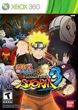 NEW Naruto Shippuden: Ultimate Ninja Storm 3  (Xbox 360, 2013) NTSC