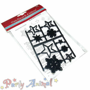 Sugarcraft-Patchwork-cutters-Snowflakes-amp-Stars