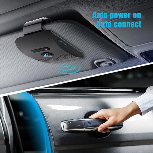 Phone Visor Universal Bluetooth Car Kit Wireless Handsfree Speaker Chic