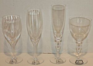 VTG-ROYALE-DE-CHAMPAGNE-CRYSTAL-STEM-CHOICE-NEW-w-Paper-Label