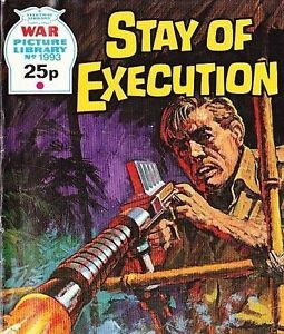 A-Fleetway-War-Picture-Library-Pocket-Comic-Book-Magazine-1993-STAY-OF-EXECUTIO