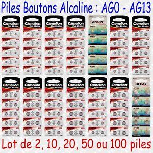 Piles-boutons-Alcaline-1-5V-Camelion-LR41-LR43-LR44-LR45-LR48-LR54-LR55-LR69