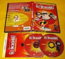 Disney Pixar GLI INCREDIBILI - 2 Dischi da Collezione - Dvd ○○○○○ USATO