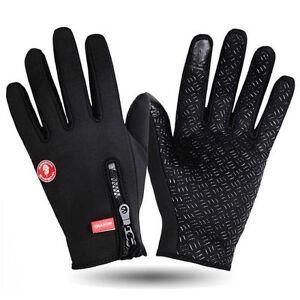 Wasserdicht Thermo Winter Handschuhe Finger Touch klappbar Sport Warm Gloves #GY Angelsport