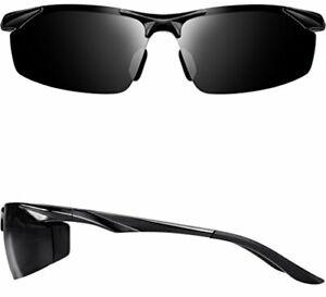 dc9ae7a475 ATTCL Men s Sports Polarized Sunglasses Driver Golf Fishing Al-Mg ...