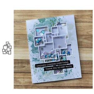 Stanzschablone-Quadrat-Hochzeit-Weihnachts-Oster-Geburtstag-Karte-Album-Deko-DIY