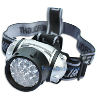 21 LED HEAD LAMP LIGHT HEADLIGHT TORCH CAMPING FLASHLIGHT SUPER BRIGHT LED NEW