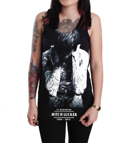 Rock bands Unisex Damen Graphic schwarz Baumwolle Tank Top Vest Shirt S-XL Neu