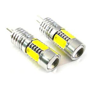 2x FOR CITROEN PEUGEOT HP24W DRL 7.5W COB DAYTIME RUNNING LIGHTS LED