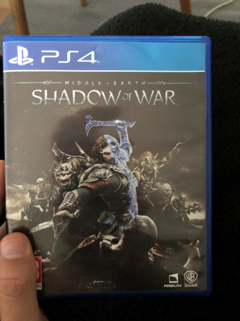 Middle Earth Shadow of War, PS4, action, Fejler intet Bydbyd