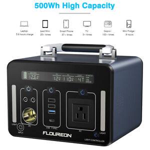 Generatore-di-Potenza-500Wh-Station-Portable-Power-Bank-Caricabatterie-Li-in-AC-DETECTIVE-COMICS-USB