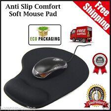 Black Comfort Wrist Gel Rest Support Mat Mouse Mice Pad Computer PC Laptop Soft