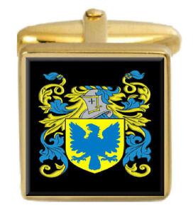 Zebulun Irland Familie Wappen Familienname Gold Manschettenknöpfe Graviert Kiste Lassen Sie Unsere Waren In Die Welt Gehen