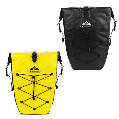 25L Fahrrad Gepäcktasche Satteltasche Gepäckträger Tasche Mit Regenschutz D8J5