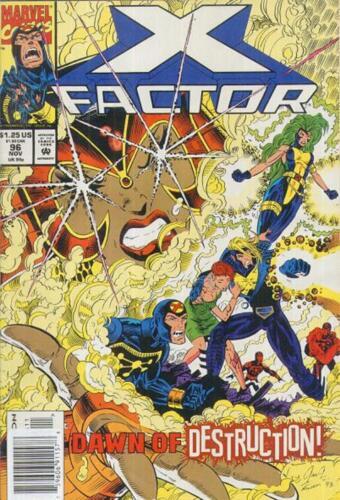 1993-9.6 COMIC X-FACTOR # 96