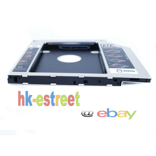 2nd Hard Drive SSD HDD Case Caddy Adapter for Lenovo IdeaPad 500-15ACZ 500-15ISK