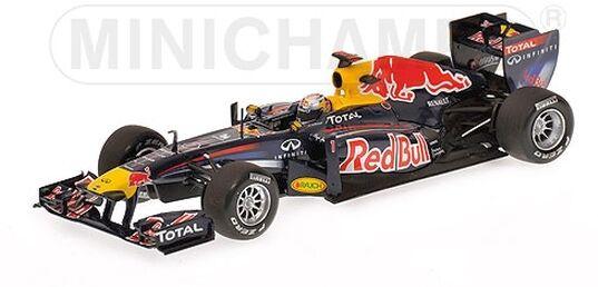 Minichamps 410110101 Red Bull Racing Renault RB7 Sebastian Vettel 2011 1 43 OVP