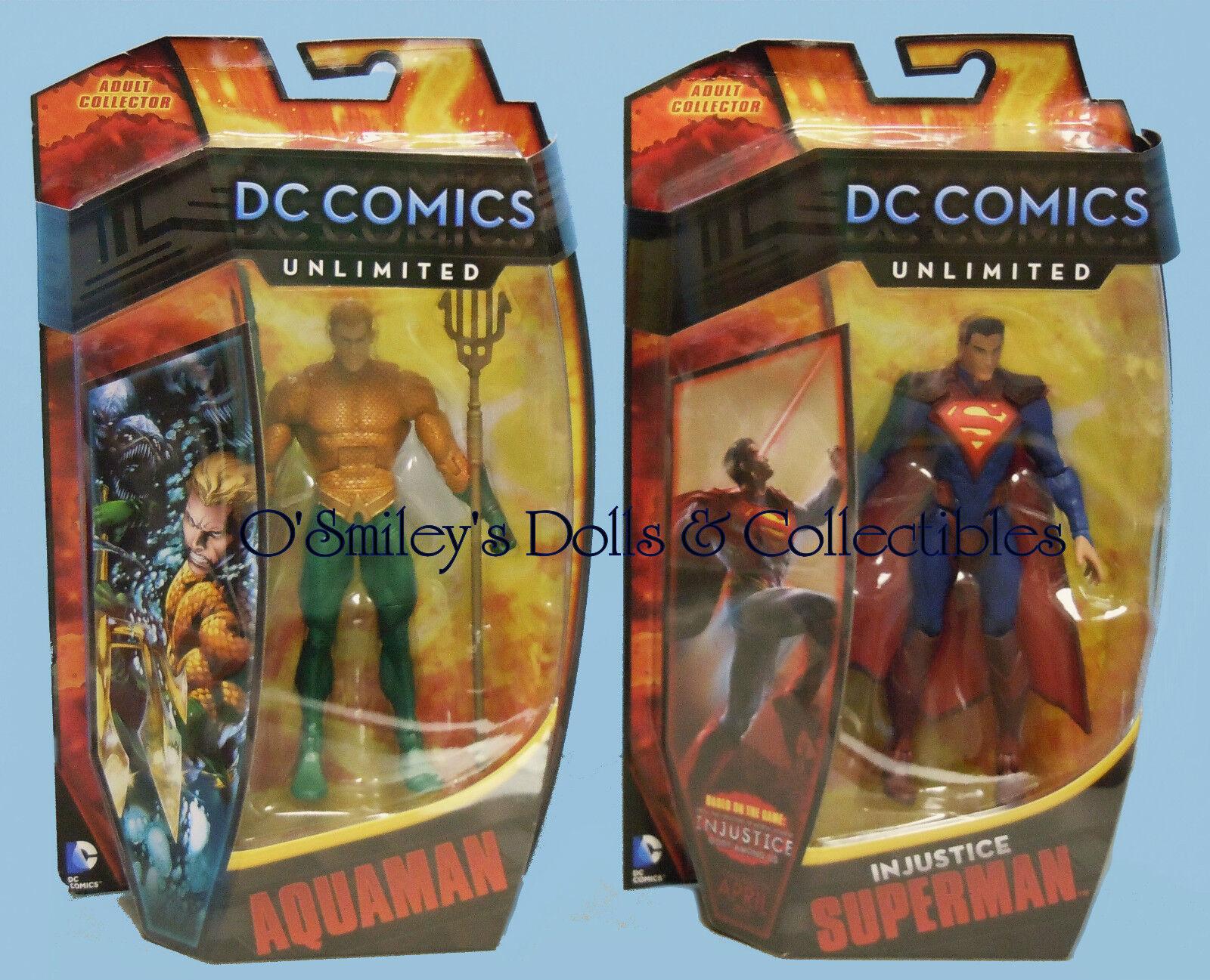 SUPERMAN Among Gods INJUSTICE UNLIMITED COMICS DC & Us