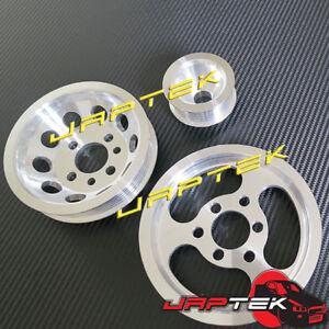 Lightweight-Pulley-Set-For-Volkswagen-Golf-Jetta-Bora-Passat-1-8L-2L-VW-Mk4-GTI