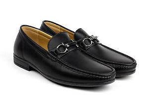 hombre-conduccion-Zapatos-Casual-Sin-Cordones-Elegante-Mocasines-Piel-Sintetica