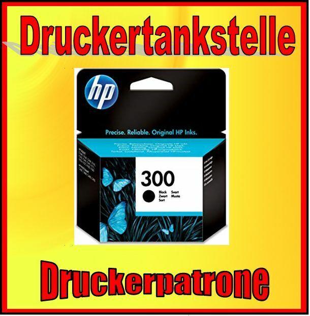 orig. Tintenpatrone HP 300 CC640EE D1660 D2530 D2660 C4670 F2480 F2490 NEU