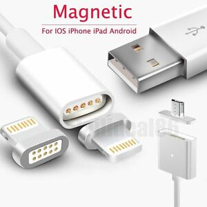 3c85013d0ae Image is loading Magnetic-Adapter-Charger-USB-Charging-Line-Cable-For-