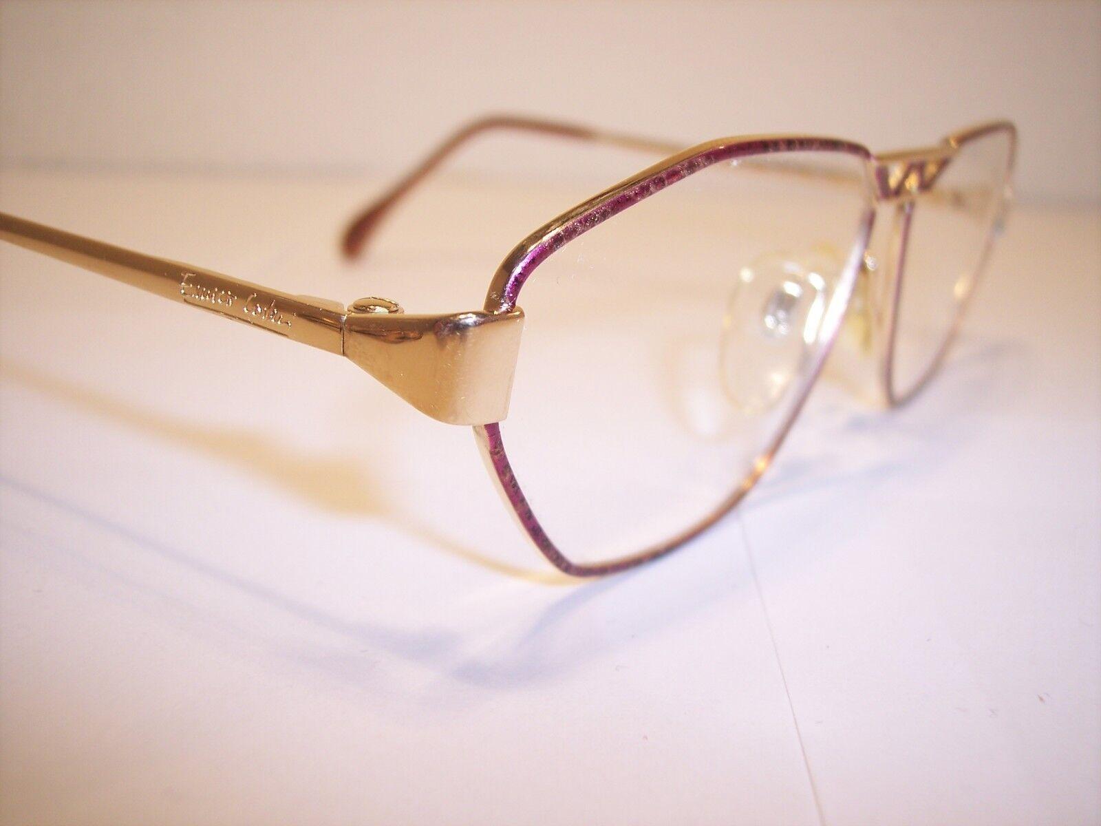 Damen-Brille Eyeglasses Lunettes by ENRICO COVERI 100%Vintage Original 90'er       Wunderbar    Vogue    Der Schatz des Kindes, unser Glück    Sonderaktionen zum Jahresende  6f8654