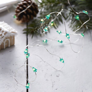 Image Is Loading Mini Christmas Tree Lights Battery Operated Wired