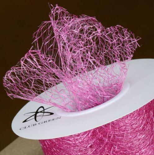 Araignées Web ruban complet Bobine 35//38mm x 20 m Mariage Décoration Craft 20 Couleurs