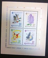 HUNGARY-WĘGRY-MAGYAR STAMPS MNH block -Stamp Day-Exhibition IMEX,1964,clean