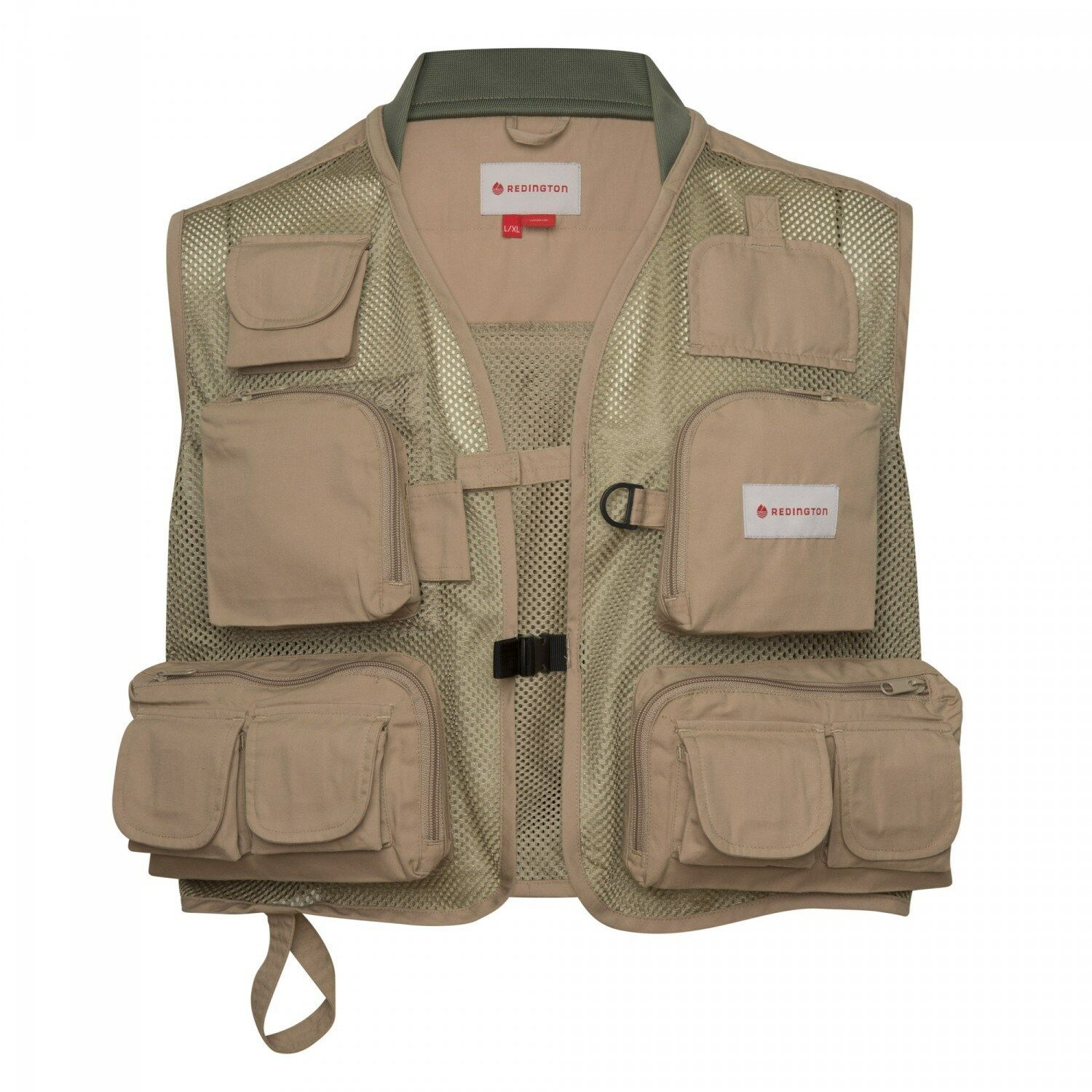 NEW  REDINGTON SM MED CLARK FORK MESH FLY FISHING VEST IN SAGE W  FREE US SHIP  order now lowest prices