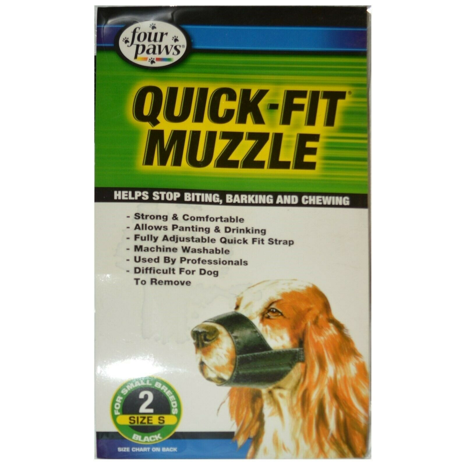 Four Paws Quick Fit Dog Muzzle Size 3 Medium Breed For Sale Online Ebay