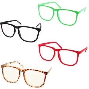 1390eed0dd3 Retro Vintage Huge Big Oversized Square Frame Women Men Eyeglasses ...