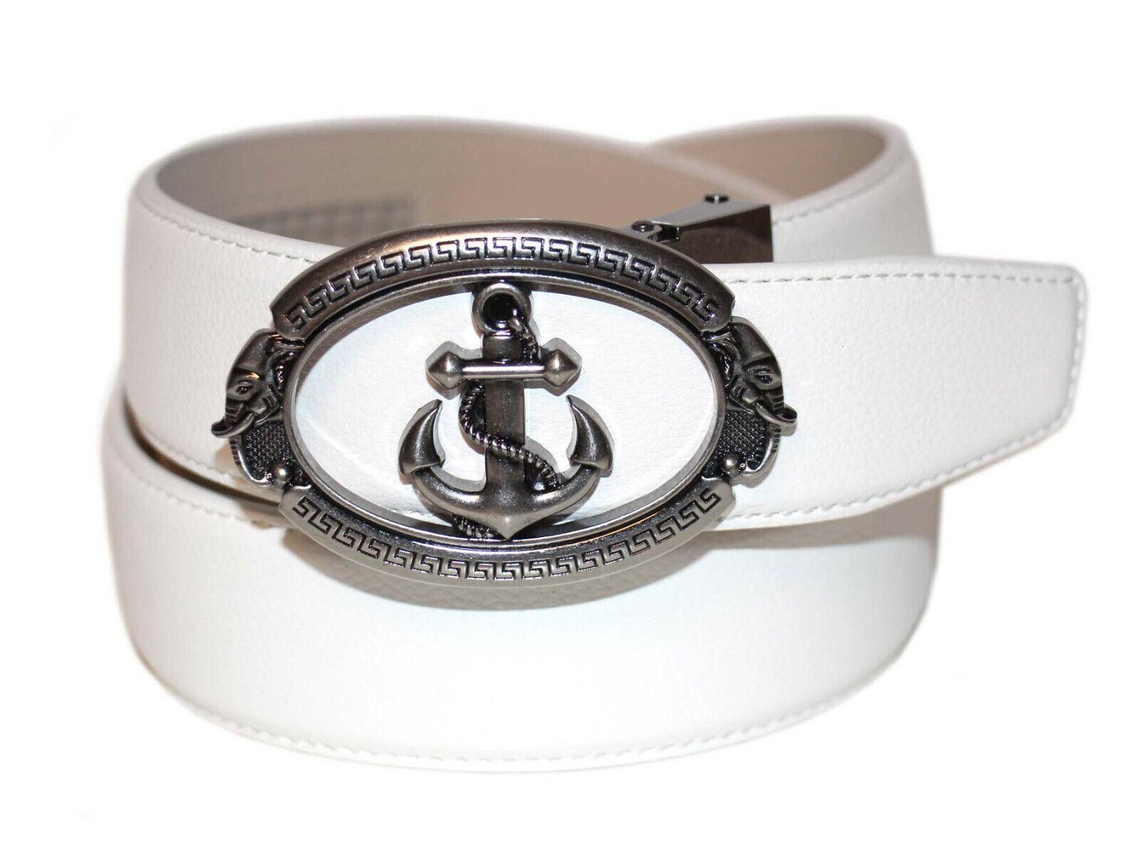 Anthoni Crown Belt Herren Gürtel Ledergürtel Größe 110