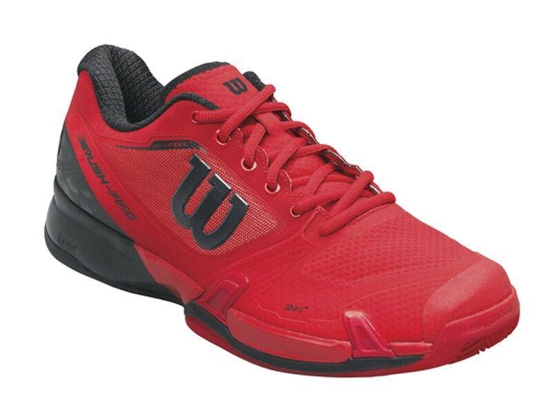 Wilson Rush  pro 2.5 Clay Court señores wilson rojo negro Barbados Cherry wrs322640  nueva gama alta exclusiva