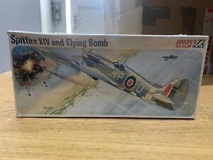 FROG 1/72 Spitfire XIV and Flying Bomb Vintage Model Kit NEW & SEALED Vintage