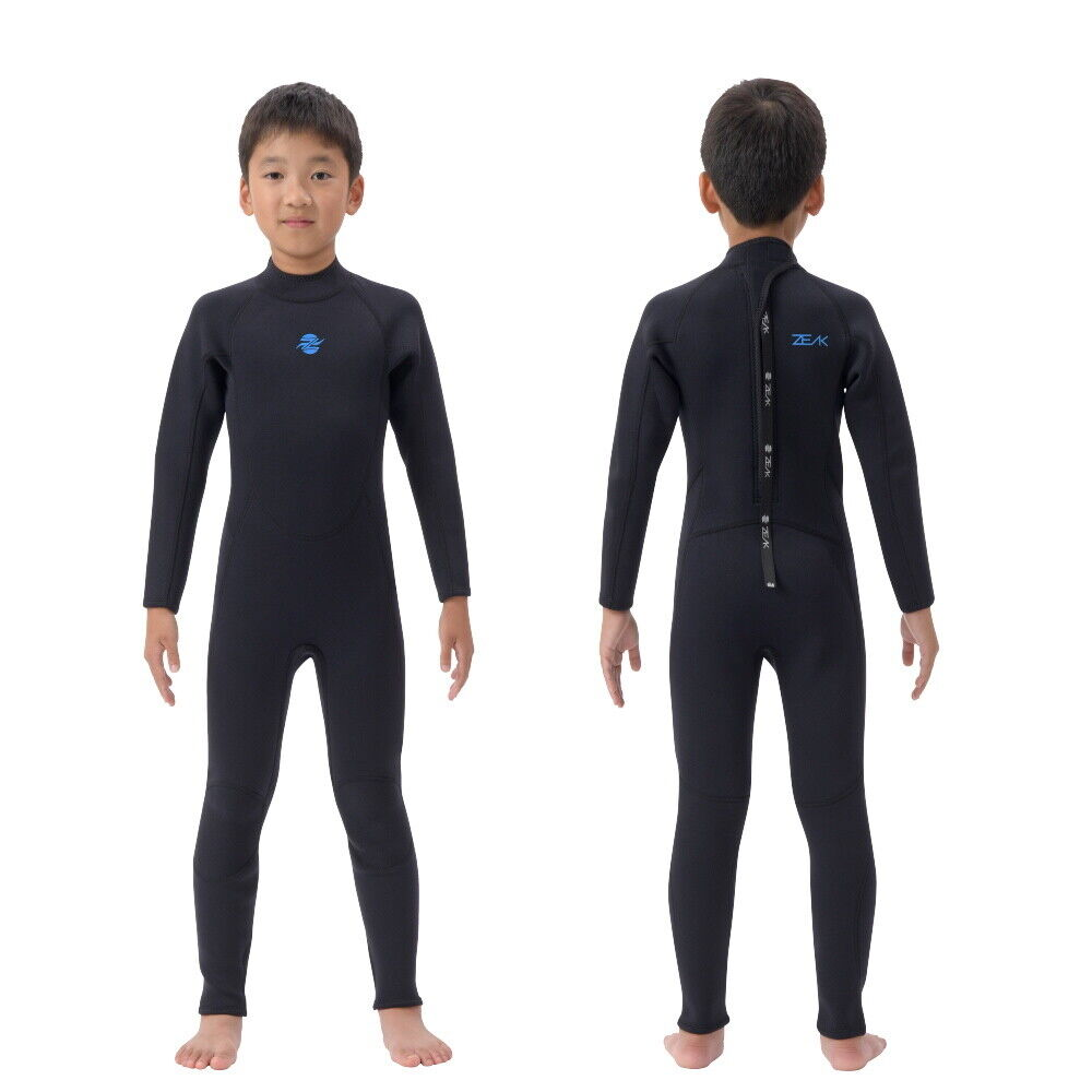 From JAPAN ZEAK wetsuit for Kids 5×3mm  full wetsuit Surfing Swimming Fishing XXL  low-key luxury connotation